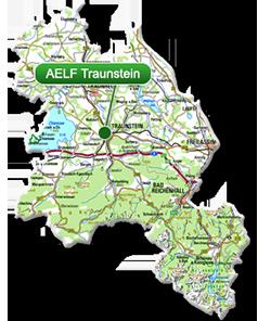 Berchtesgadener Land Karte.Aelf Traunstein